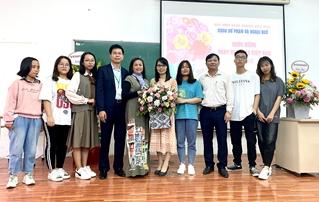Ngành Sư phạm Công nghệ chúc mừng Ngày Nhà Giáo Việt Vam 20-11