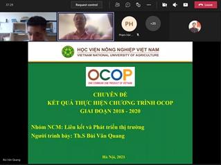 Kết quả bước đầu của chương trình OCOP giai đoạn 2018 – 2020