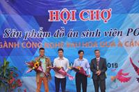 Thành công của Hội chợ sản phẩm đồ án sinh viên POHE ngành Công nghệ rau hoa quả và Cảnh quan lần thứ 11