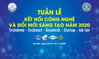 Tuần lễ Kết nối công nghệ và Đổi mới sáng tạo năm 2020 Techdemo - Techmart - Growtech - Job fair - Startup