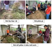 Rèn nghề thực hành sản xuất Nông nghiệp hữu cơ cho sinh viên ngành Nông nghiệp công nghệ cao, Khoa Nông học