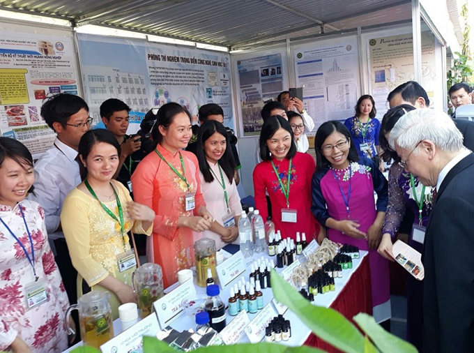 Science and technology products of the Department of Environment