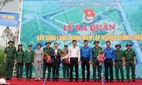 Tư vấn điều tra, khảo sát lập quy hoạch phát triển nông lâm nghiệp Dự án Làng thanh niên lập nghiệp Quảng Châu, tỉnh Quảng Bình