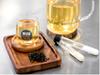 Probiotic coffee and tea drinks