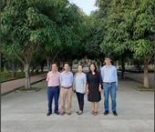 Cán bộ, viên chức Học viện Nông nghiệp Việt Nam làm nhiệm vụ kiểm tra công tác tổ chức coi thi tốt nghiệp THPT năm 2020 tại Nghệ An