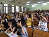 Thông báo tuyển sinh đào tạo trình độ thạc sĩ đợt 1 năm 2021