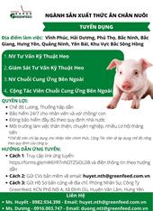Công ty cổ phần GreenFeed Việt Nam - Chi nhánh Hưng Yên
