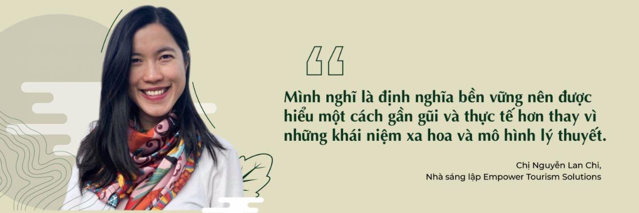 Cựu sinh viên Ngành Quản trị kinh doanh nông nghiệp chương trình tiên tiến Nguyễn Lan Chi
