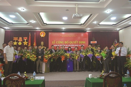 Announcement Ceremony for the Decision on the establishment of the Board of Trustees of   Vietnam National University of Agriculture