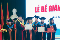 Master's Degree Graduation Ceremony of 206 students of K26