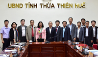 Vietnam National University of Agriculture supports Thu Thien Hue province to promote sustainable agriculture development