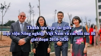 The outstanding achievements of cooperation between Vietnam National University of Agriculture and Belgian partners  during the period 2010-2020