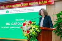 The World Bank Country Director for Vietnam visits VNUA on the 65th establishment anniversary